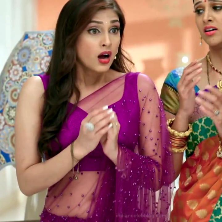 Reena Aggarwal hindi TV actress KyaHMPS1 18 hot saree pics
