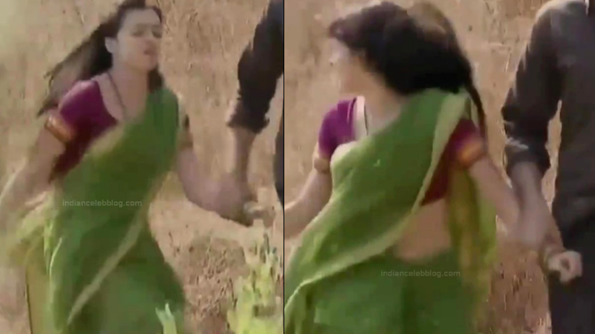 Shrenu Parikh Hindi TV Actress YTComp3 9 Hot saree navel pics