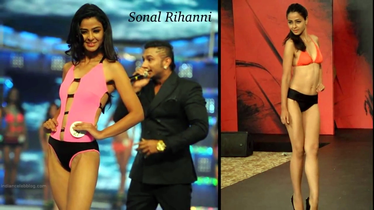 Sonal Rihanni Miss India 2014 Swimsuit round Pics