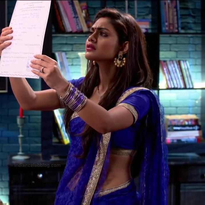 Sreejita De Hindi TV Actress TumhiHBS2 7 Hot Saree Photo