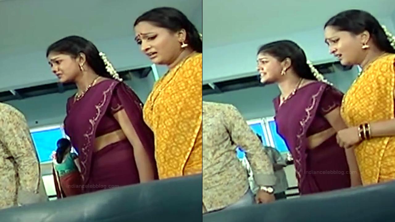Telugu TV Actress Maa Nanna Art1-S1 14 Hot Saree Caps
