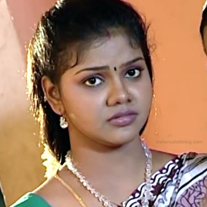 Telugu TV Actress Maa Nanna Art1-S1 5 Hot Saree Caps