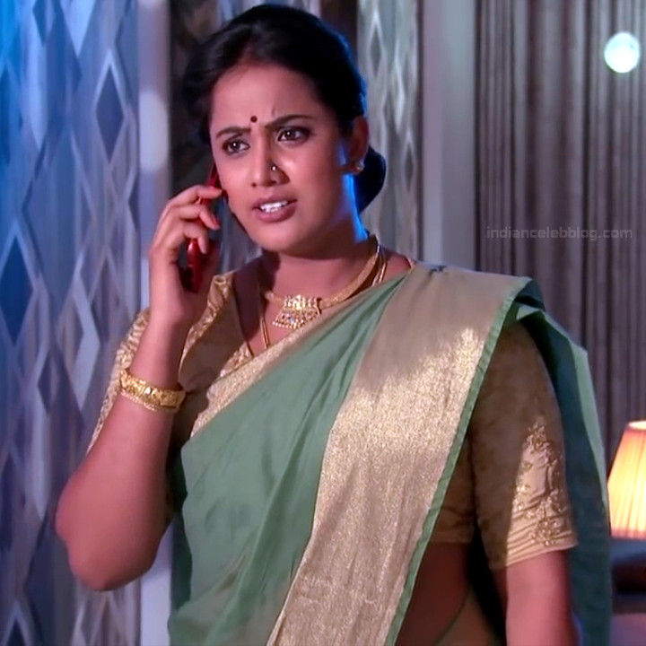 Telugu TV serial mature actress Comp2 15 hot saree photo