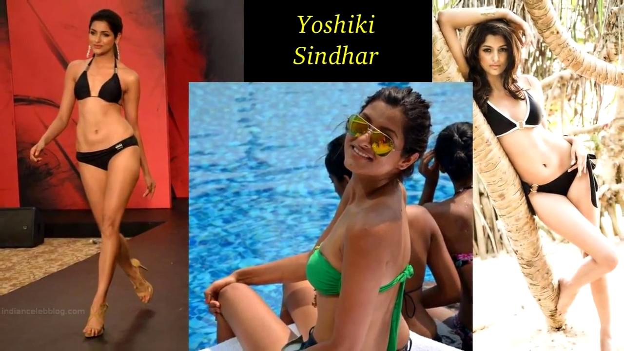 Yoshiki Singhar Miss India 2014 Bikini Photoshoot Pics
