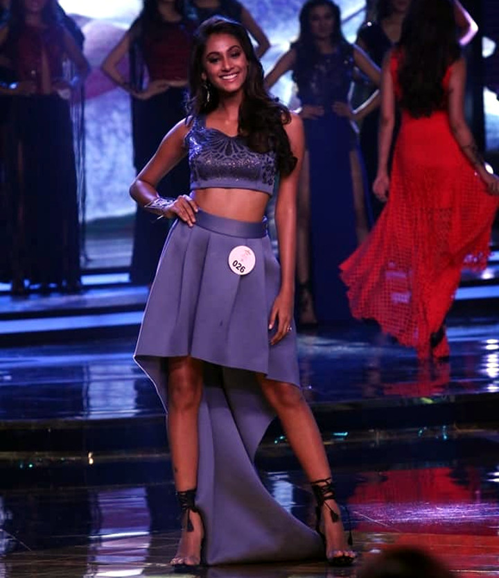 Anukreethy Vas Miss India 2018 Final 26