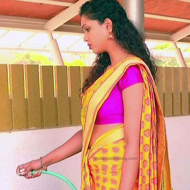 Apoorva Bharadwaj Kannada Serial Sathyam SSS1 1 hot saree photo