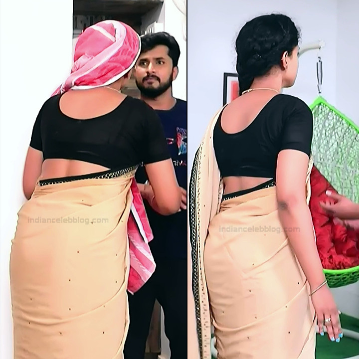 Apoorva Bharadwaj Kannada Serial Sathyam SSS1 10 hot saree pics