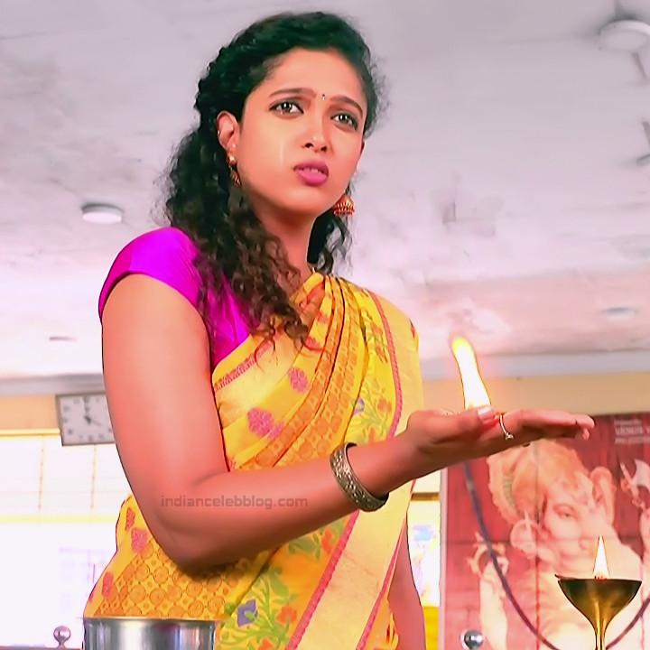 Apoorva Bharadwaj Kannada Serial Sathyam SSS1 13 hot saree photo