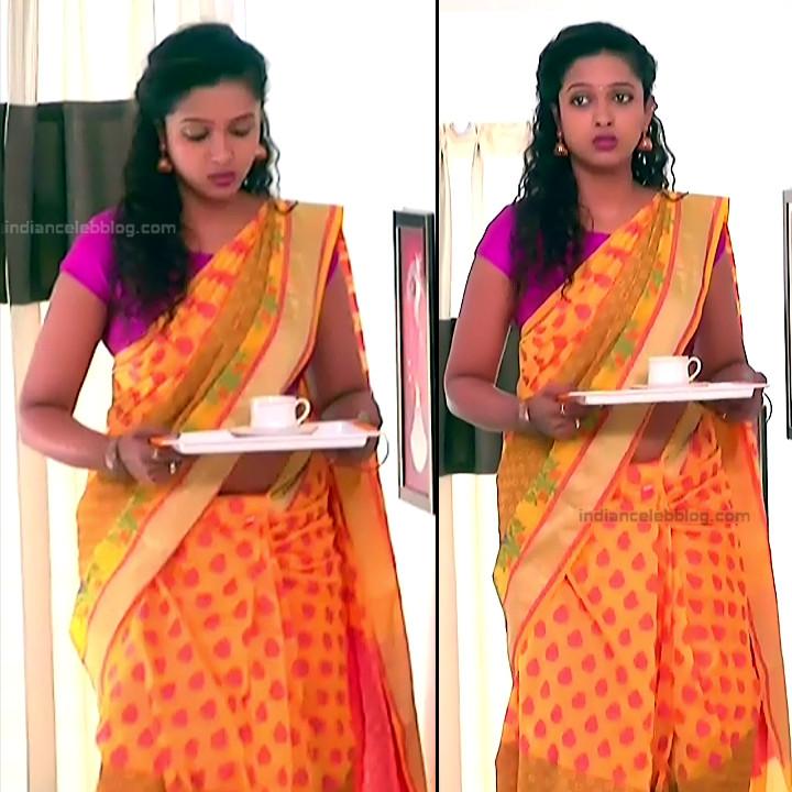 Apoorva Bharadwaj Kannada Serial Sathyam SSS1 15 hot saree pics