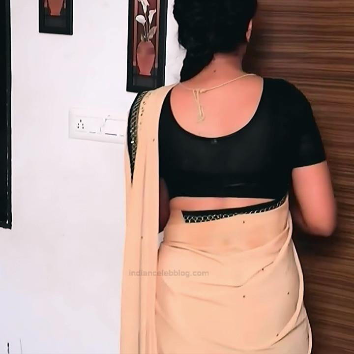 Apoorva Bharadwaj Kannada Serial Sathyam SSS1 9 hot saree photo