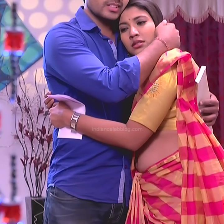 Chandana Raghavendra Kannada TV Actress Sindoora S2 14 hot saree pics