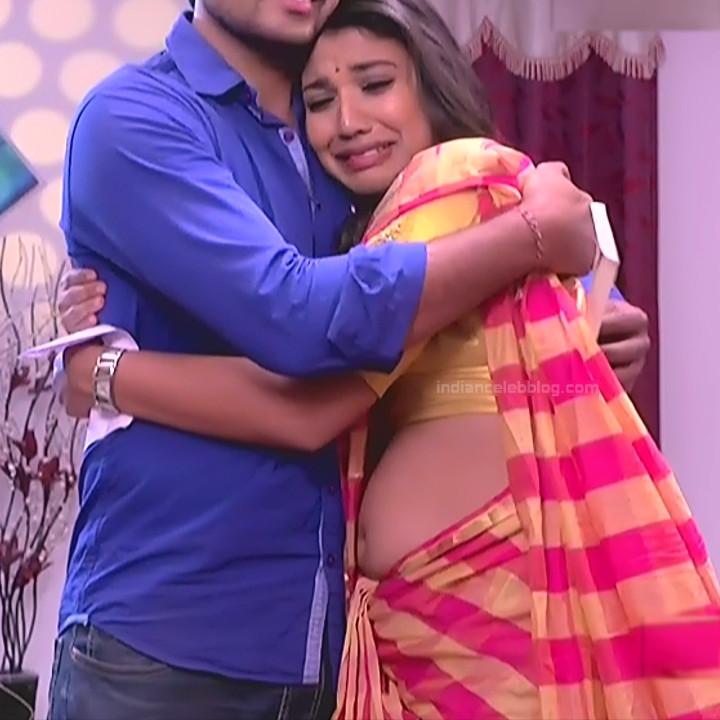 Chandana Raghavendra Kannada TV Actress Sindoora S2 16 hot saree pics