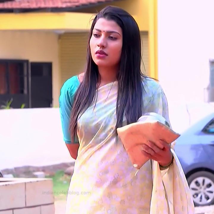 Chandana Raghavendra Kannada TV Actress Sindoora S2 2 hot saree pics