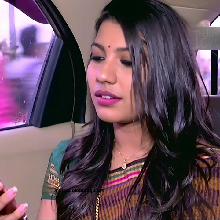 Chandana Raghavendra Kannada TV Actress Sindoora S2 22 hot saree pics