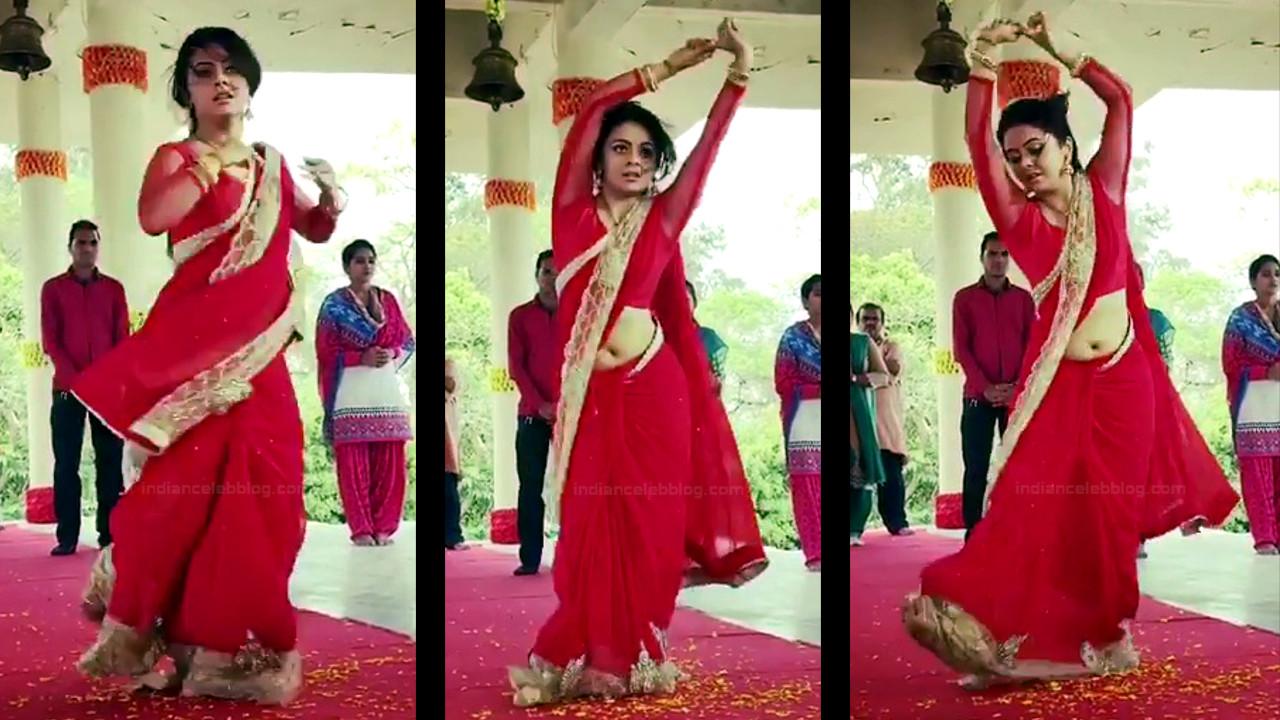 Devoleena Bhattacharjee Hindi TV actress CTS1 13 hot saree pics