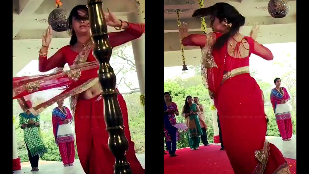 Devoleena Bhattacharjee Hindi TV actress CTS1 14 hot saree pics