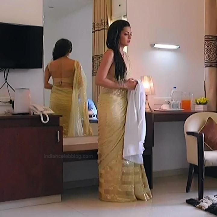 Drashti Dhami Hindi TV actress SilsilaS1 11 hot saree pics
