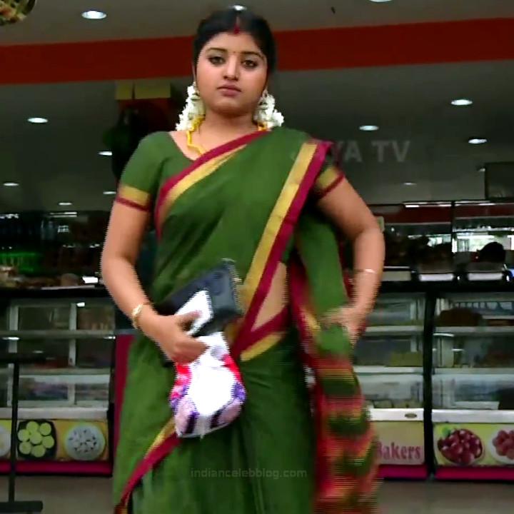 Mahalakshmi Tamil TV actress RVS1 14 hot saree photo