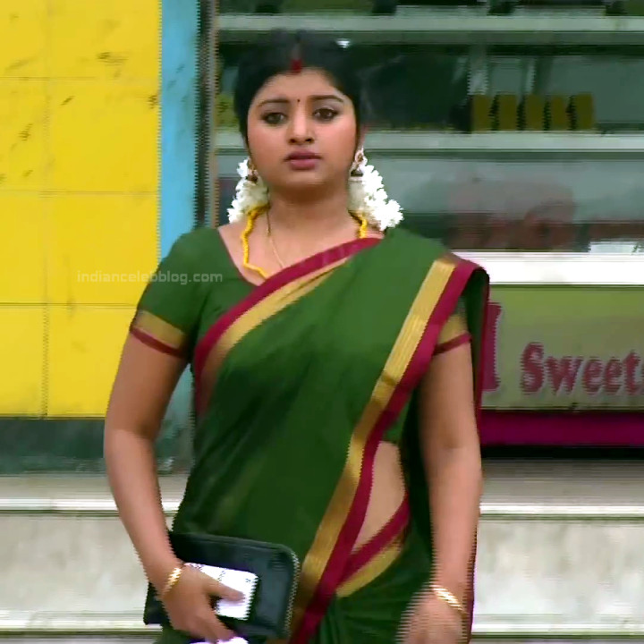Mahalakshmi Tamil TV actress RVS1 15 hot saree photo