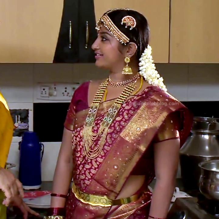 Mahalakshmi Tamil TV actress RVS1 2 hot saree photo