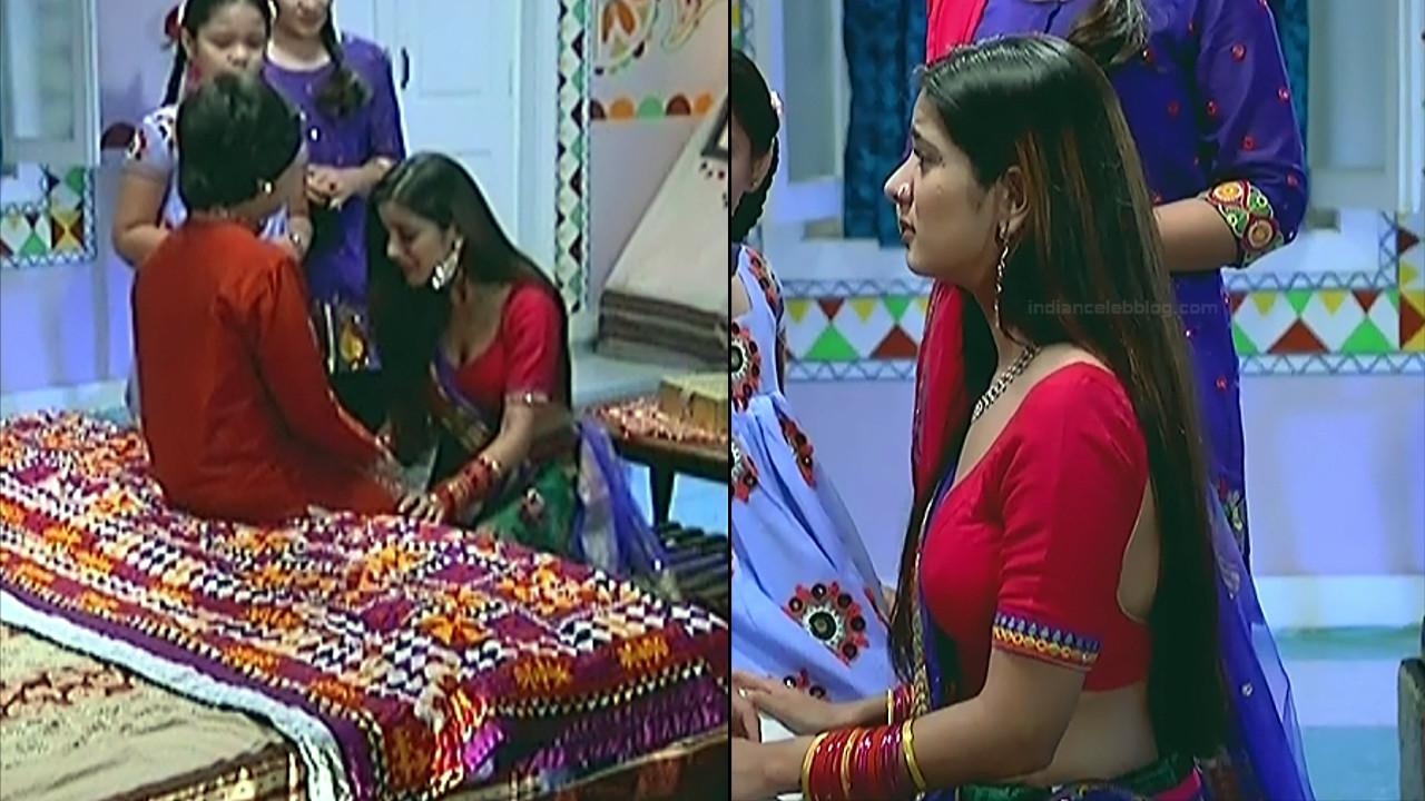 Nikki Sharma Hindi serial actress Roop MKNSS1 7 hot lehenga pics