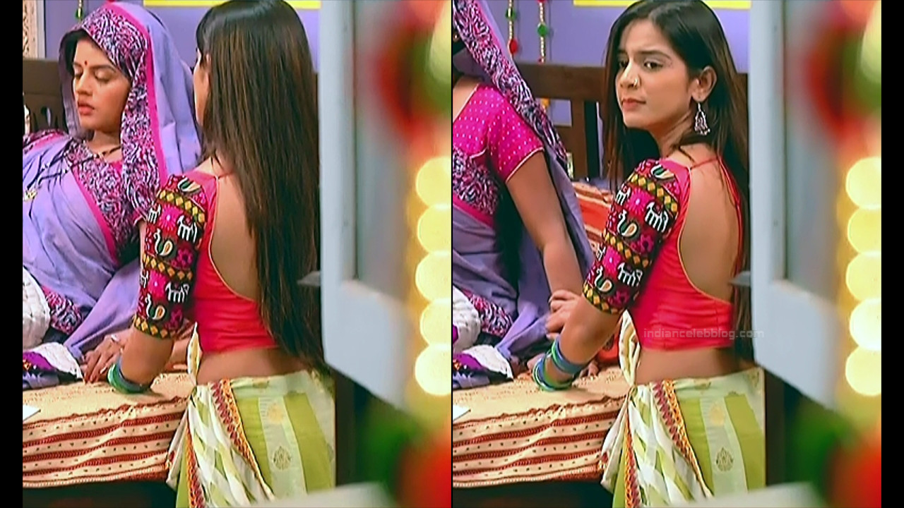 Nikki Sharma Hindi serial actress Roop MKNSS1 8 hot lehenga pics