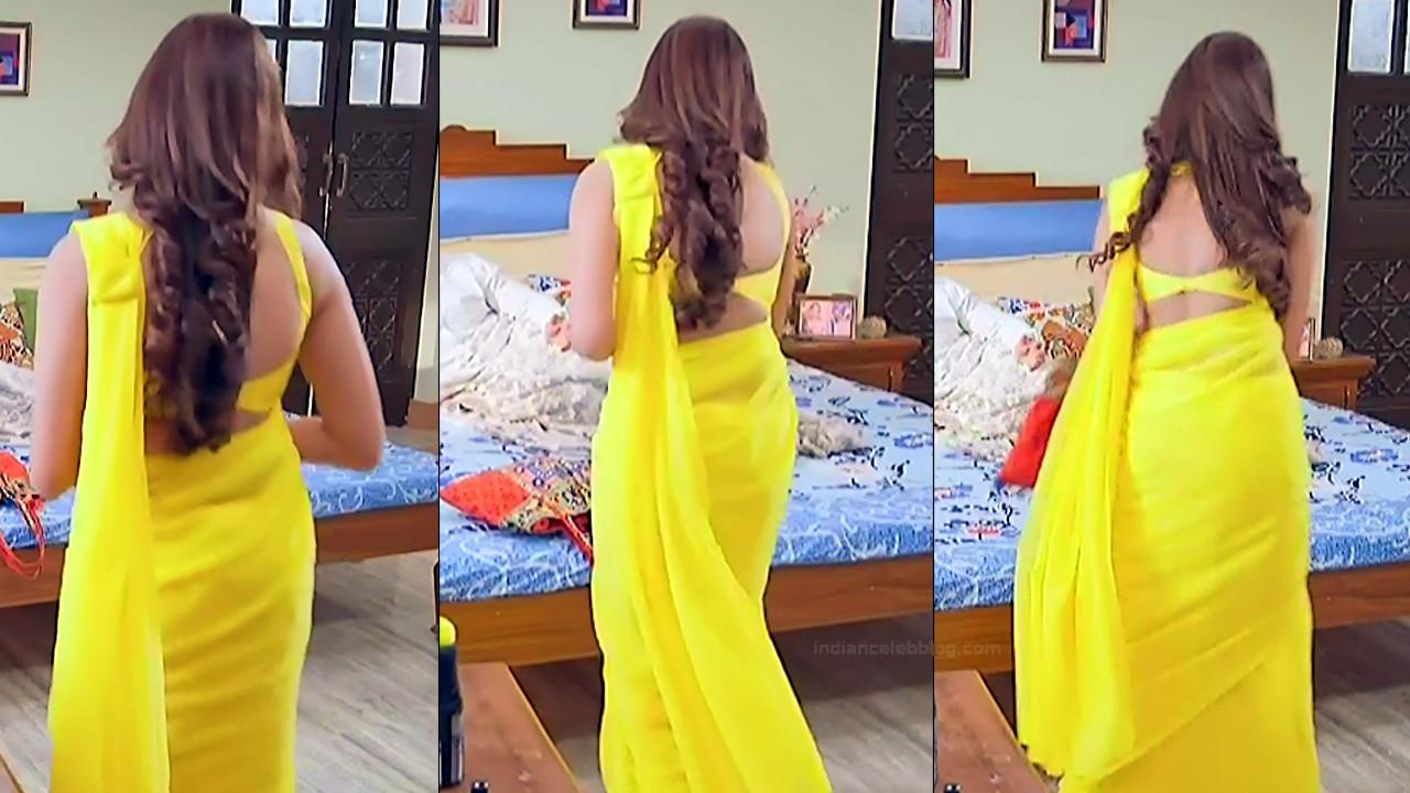 Parvati Vaze hindi TV actress Sajan RPJMBS1 19 backless sari pics
