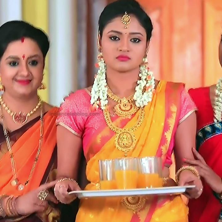 Ranjani Raghavan Kannada TV actress PuttGMS2 1 hot saree photos