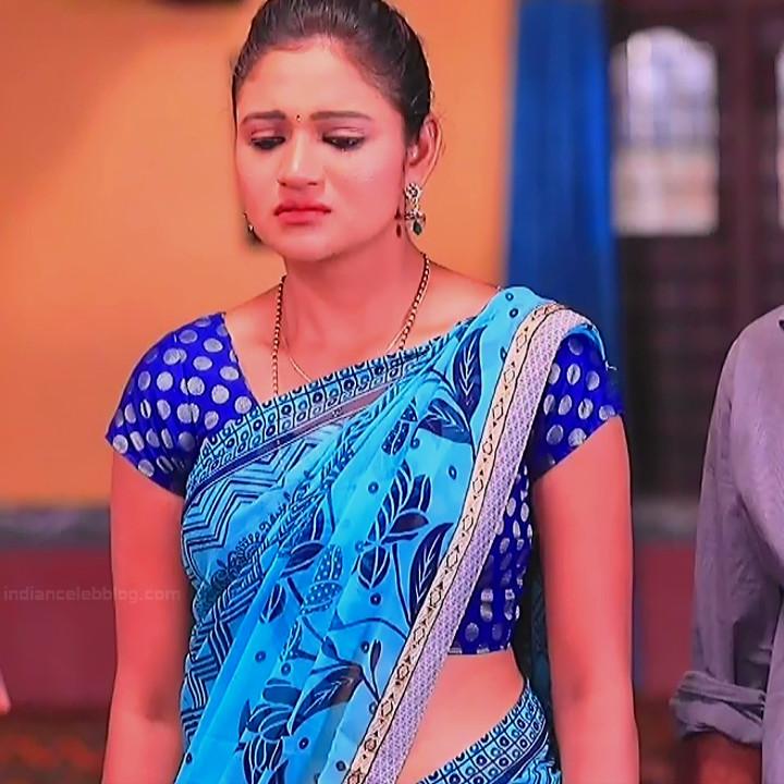 Ranjani Raghavan Kannada TV actress PuttGMS2 2 hot saree photos