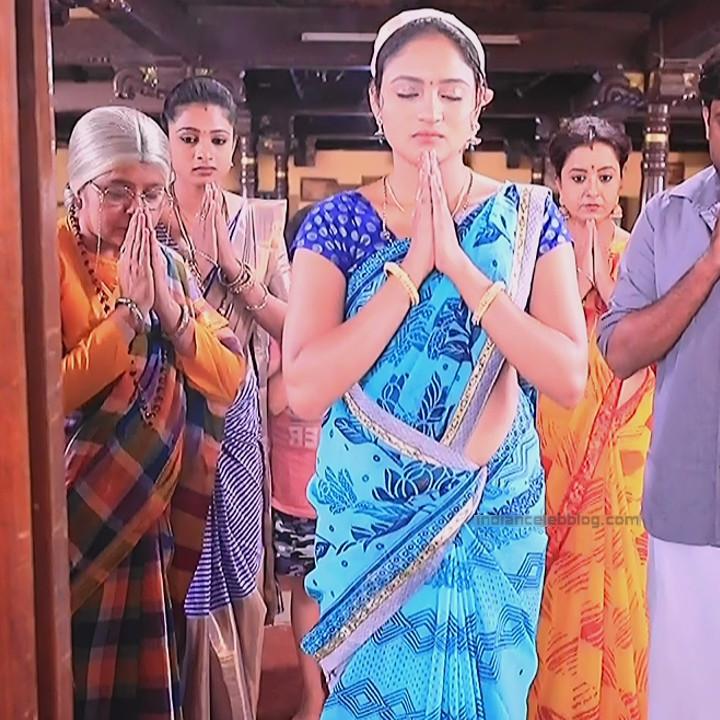 Ranjani Raghavan Kannada TV actress PuttGMS2 5 hot saree caps