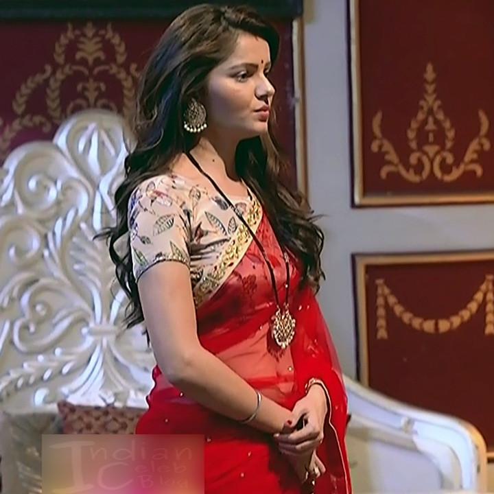 Rubina Dilaik Hindi TV actress ShaktiAS5 17 hot sari photo
