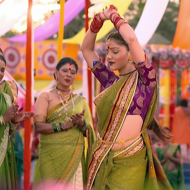 Rubina Dilaik Hindi TV actress ShaktiAS5 18 hot sari photo