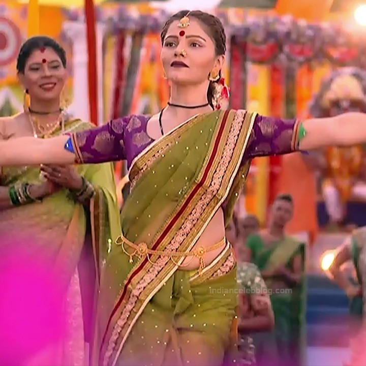 Rubina Dilaik Hindi TV actress ShaktiAS5 19 hot sari photo