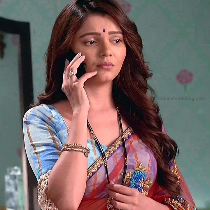 Rubina Dilaik Hindi TV actress ShaktiAS5 9 hot sari photo