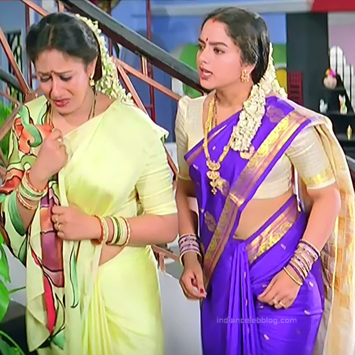 Soundarya Intlo illalu movie S1 9 hot saree captures