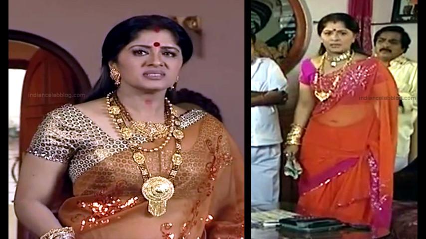 Sudha chandran Tamil TV actress PonDTS1 1 hot sari photo