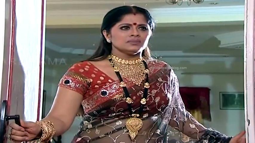 Sudha chandran Tamil TV actress PonDTS1 8 hot saree pics
