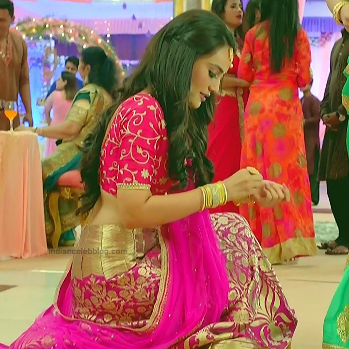 Surbhi Jyoti Hindi TV actress Naagin S1 13 hot lehenga choli pics