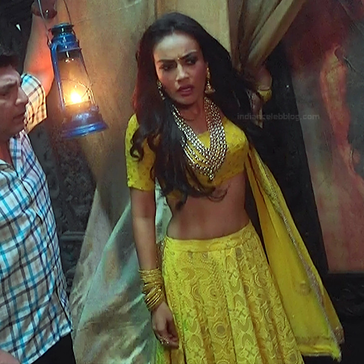 Surbhi Jyoti Hindi TV actress Naagin S1 19 hot lehenga choli pics