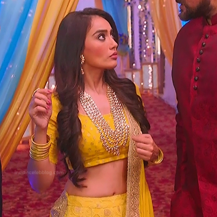 Surbhi Jyoti Hindi TV actress Naagin S1 6 hot lehenga choli pics