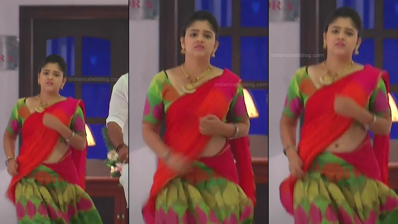 Telugu TV Actress Agnisakshi UnKS1 10 hot navel pics