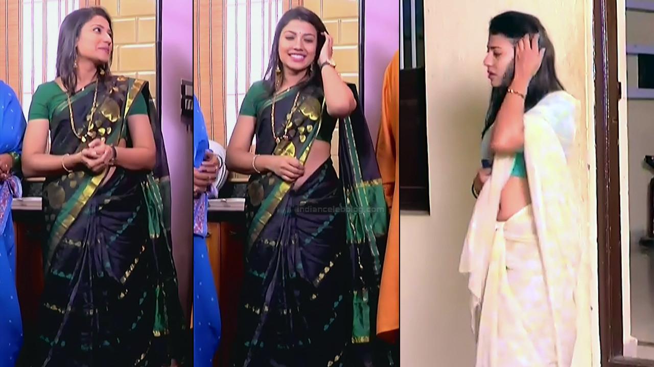 Chandana Raghavendra Kannada tv actress Sindoora S3 8 hot sari pics