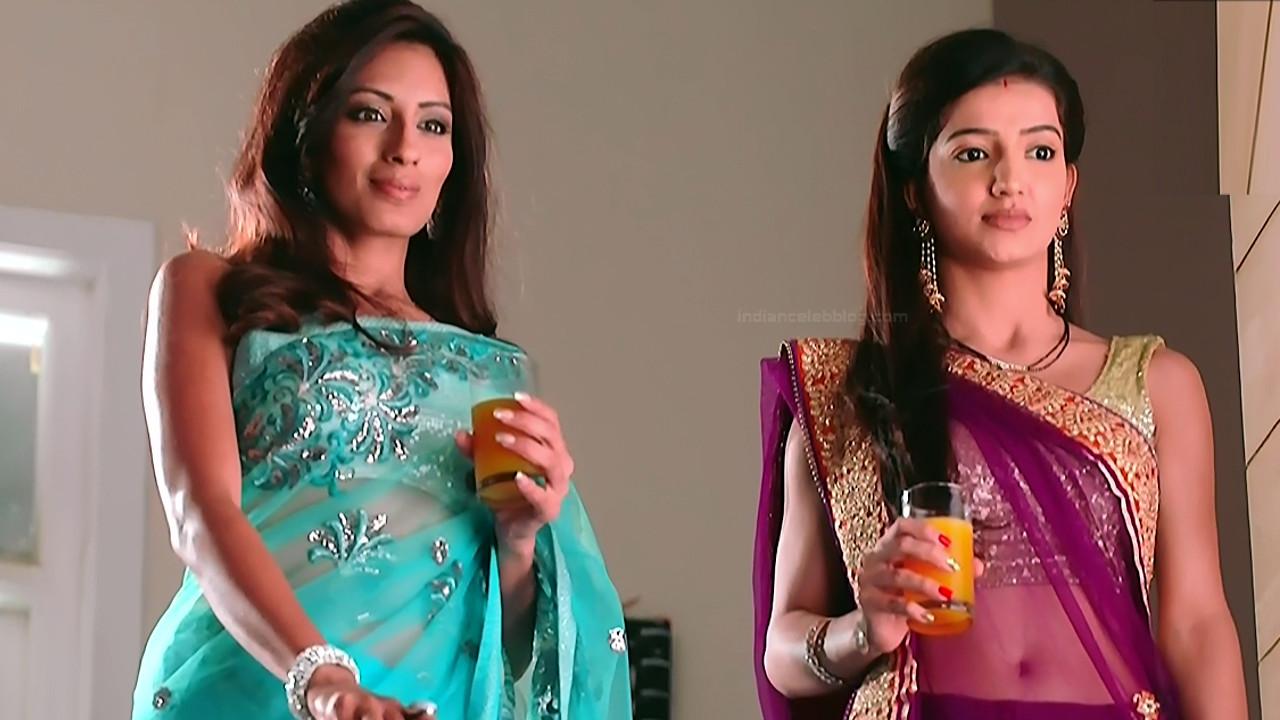 Lovey sasan hindi tv actress Saath NSS1 12 hot saree photo