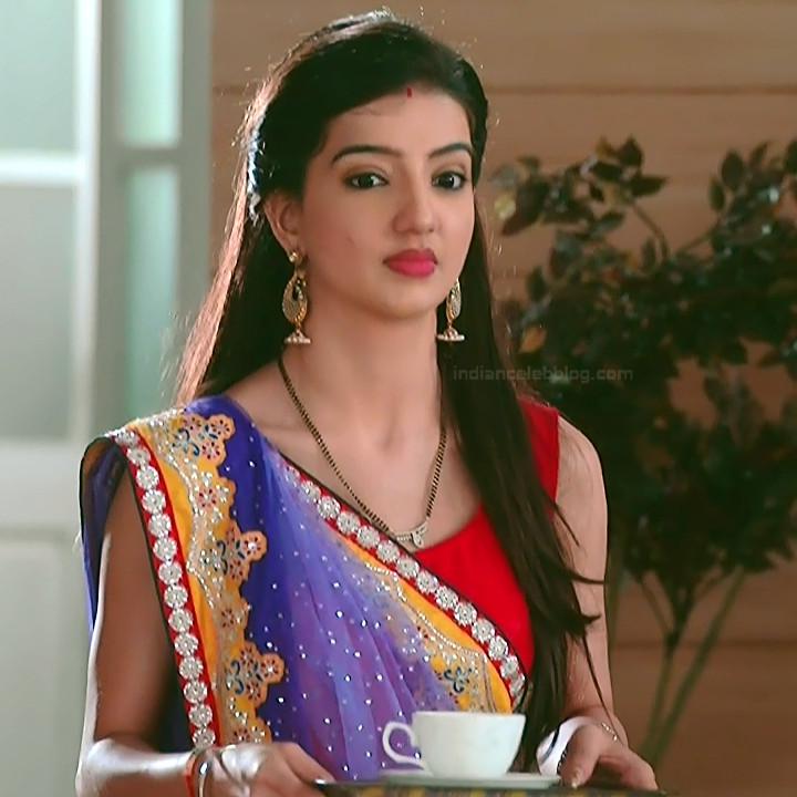 Lovey sasan hindi tv actress Saath NSS1 2 hot saree photo