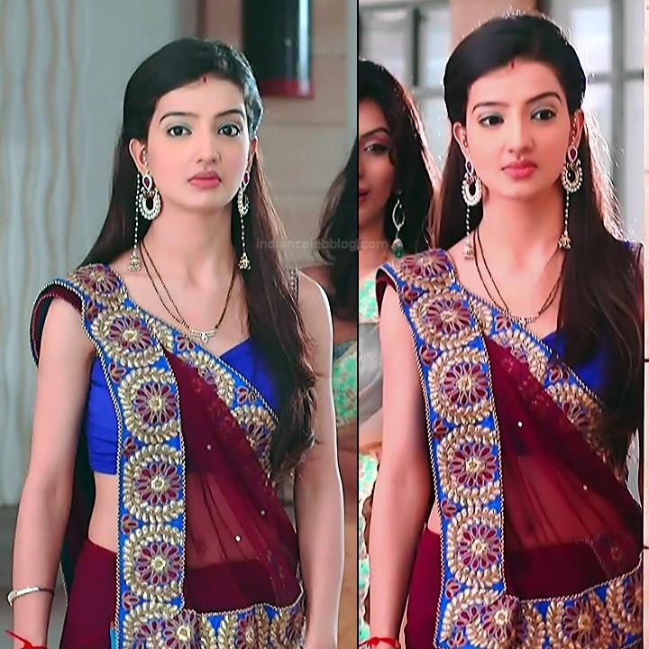Lovey sasan hindi tv actress Saath NSS1 9 hot sari caps