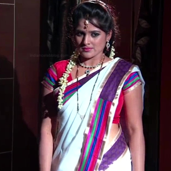 Monisha telugu tv actress Nandhini VNS1 27 hot saree photo