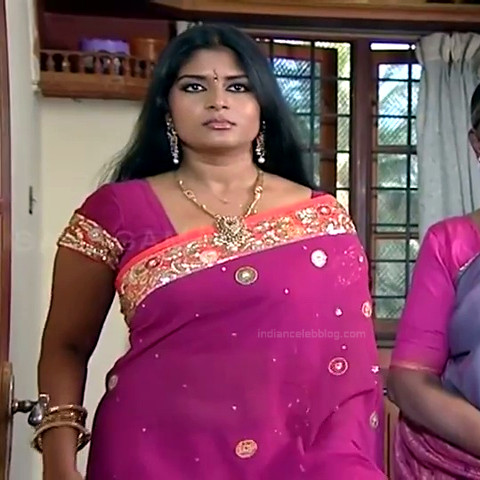 Neepa tamil tv actress PonDTS1 11 hot saree photo
