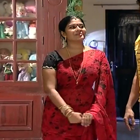 Neepa tamil tv actress PonDTS1 16 hot sari caps