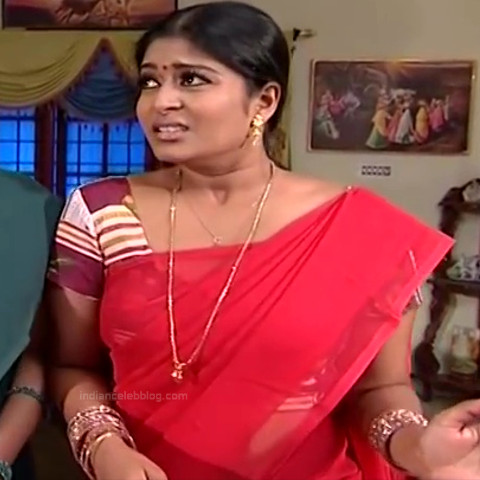Neepa tamil tv actress PonDTS1 4 hot saree pics
