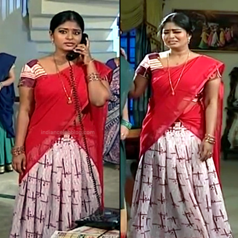 Neepa tamil tv actress PonDTS1 5 hot saree pics